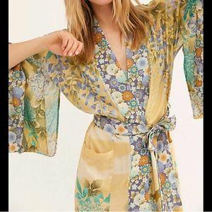 Spell Designs Willow Kimono in Meadow S/M